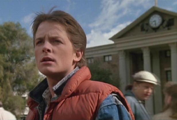 Marty McFly em De Volta ao Futuro